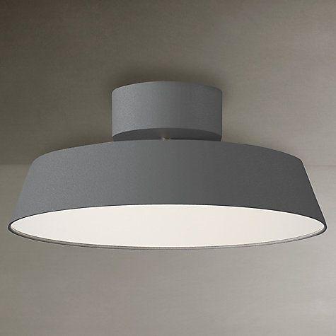 Buy Nordlux Alba LED Adjustable Tilt Semi-flush Ceiling Light Online at johnlewis.com