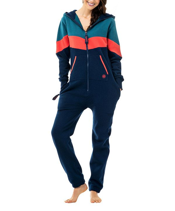 Adult blanket sleeper/ Fleece Onesie pajamas for adults that actually look grown up! And comfy! Adult Footie pajamas Vantage Coral Jumpsuit - Adult by ZIPUPS