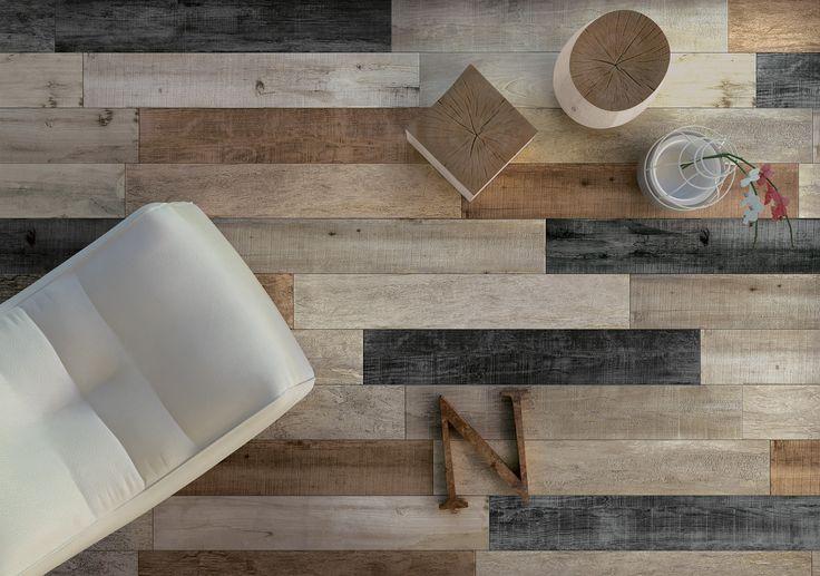 Viene interpretato il legno più vissuto e materico in 5 colori, 2 superfici e 3 formati. La collezione coniuga il calore dei legni naturali e l'eleganza dei legni lucidi, trasferendo tutte le straordinarie caratteristiche tecniche del gres porcellanato.