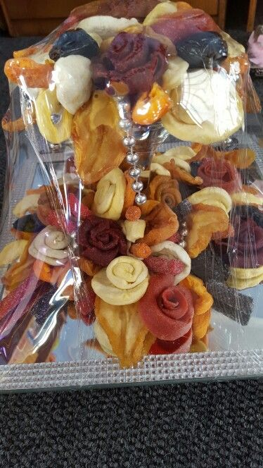 Dried fruit bouquet