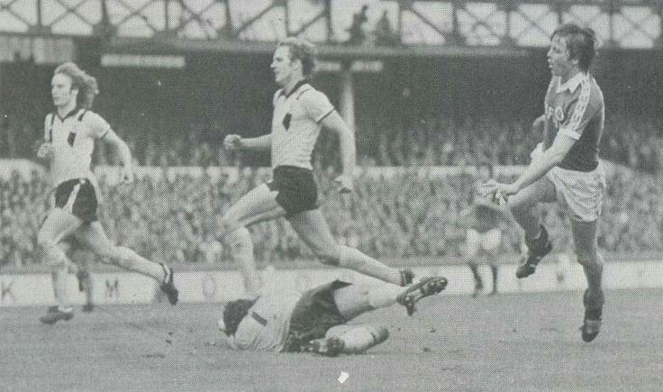 Everton 3 Crystal Palace 1 in Oct 1979 at Goodison Park. Andy King scores Everton's 3rd goal #Div1