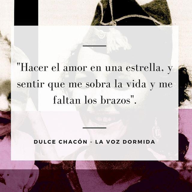 Dulce Chacón - La voz dormida. Amor citas célebres, frases, libros