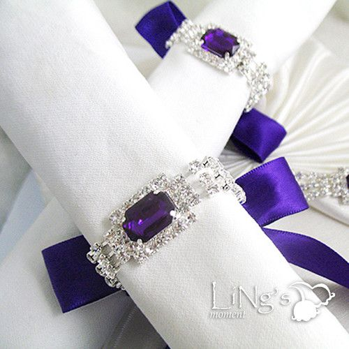 67 Best Bling Plate Chargers And Napkin Holders Images On