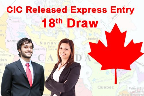 Canada 18th express entry was Released