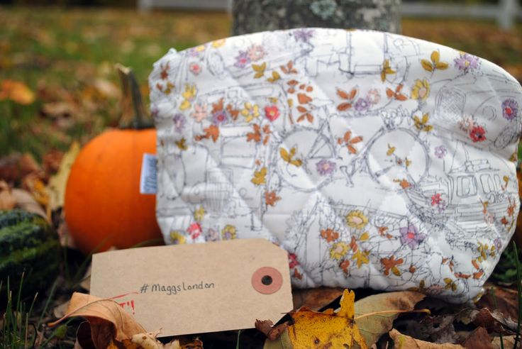 'The Fair One' -- a handmade makeup bag by Hannah Maggs (Maggs London)