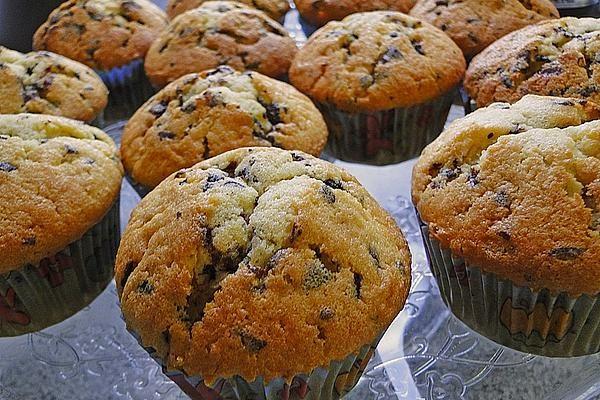 Muffins mit Schokoladenstückchen – Muffins