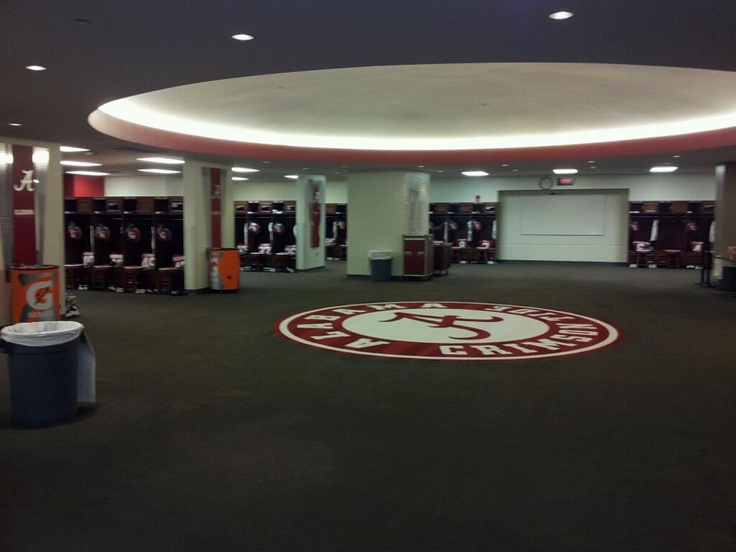 Alabama Football Locker Room