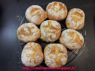 Petits pains portugais : Molletes