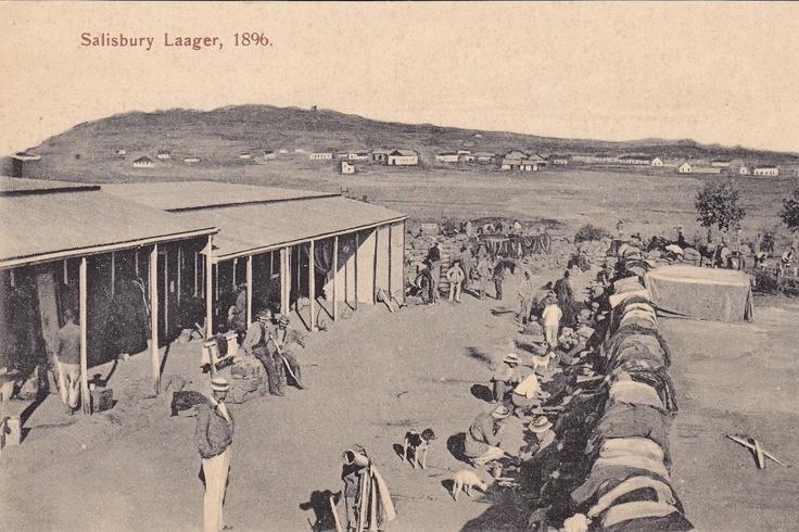 Salisbury Laager, 1896
