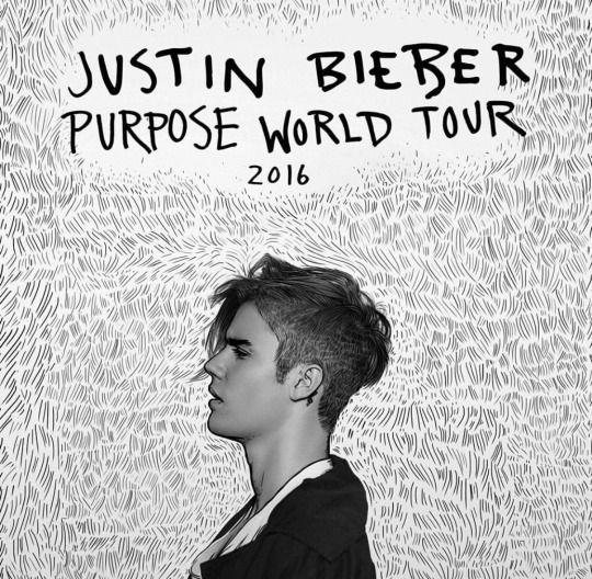 justinbieber: First round of dates are up. Presale on Fahlo next week. #purposeworldtour http://www.justinbiebermusic.com/tour watch #bieberweek on @theellenshow today for more details