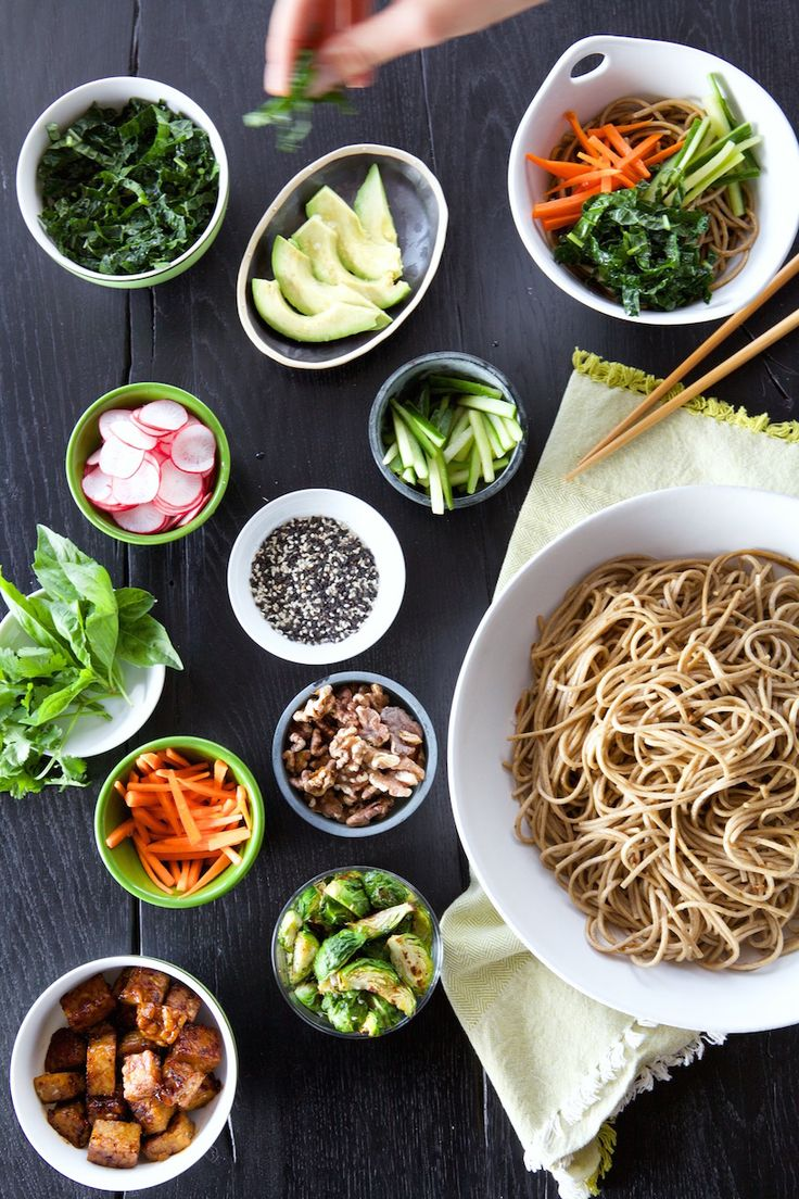 My favourite soba Noodles. They only take 5 minutes to cook, the rest is up to you.