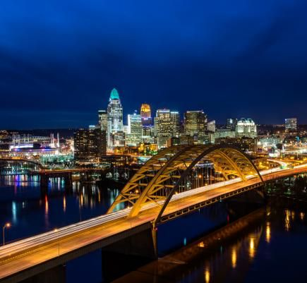 This historic city on the Ohio River offers top cultural institutions and a revitalized riverfront. Things to do in Cincinnati include the Cincinnati Zoo and Botanical Garden, Cincinnati Art Museum, National Underground Railroad Freedom Center and the Cincinnati Museum Center.