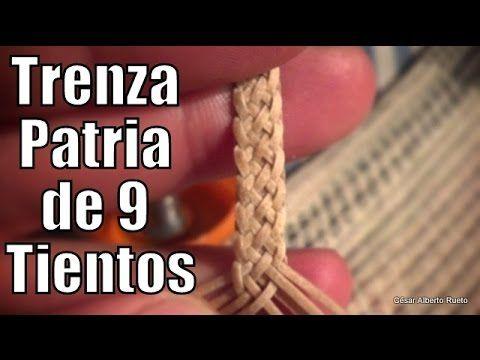 """Trenza Patria de 9 """"El Rincón del Soguero"""" - YouTube"""