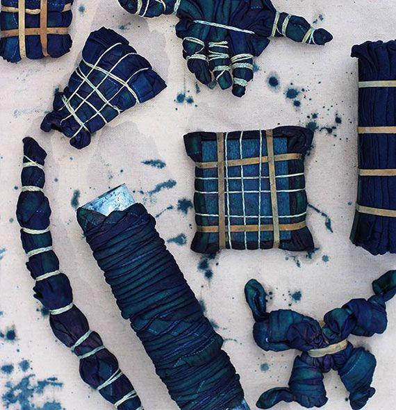 die besten 25 shibori fabric ideen auf pinterest textile manipulation techniken zur. Black Bedroom Furniture Sets. Home Design Ideas