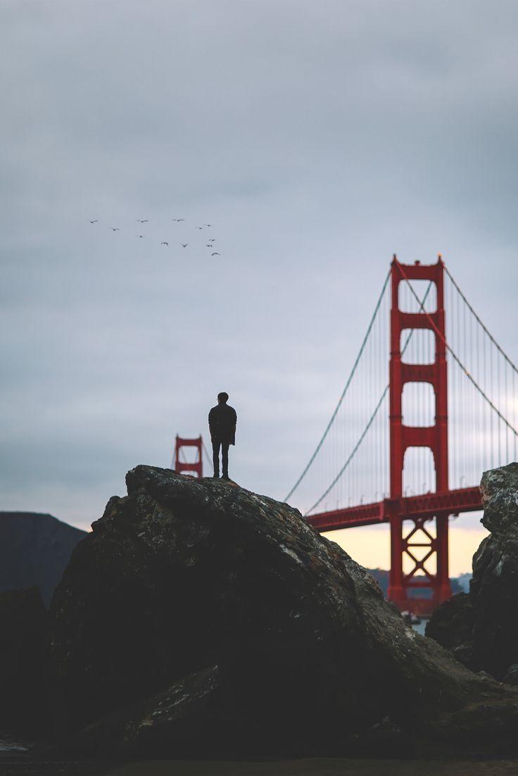 Golden Gate Bridge by Saksham Gangwar sanfrancisco