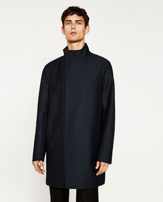 Image 1 of BASIC COAT from Zara