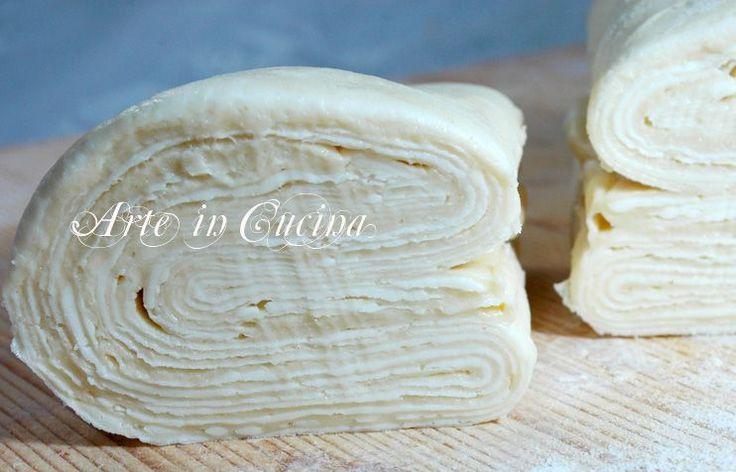 Pasta sfoglia ricetta base arte in cucina