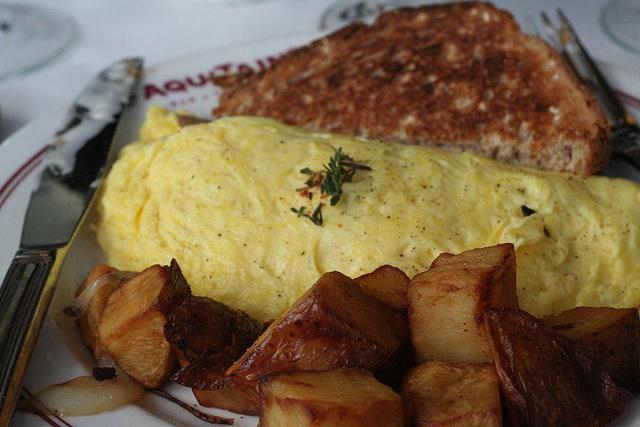 Omelette Alsacienne  Aquitaine- South End, Boston, MA