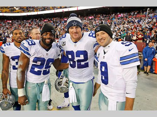 DeMarco Murray, Jason Witten, Tony Romo