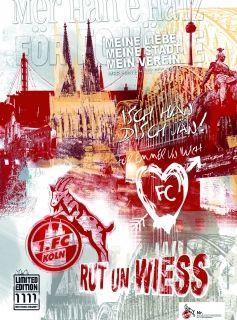 1.FC Köln Poster
