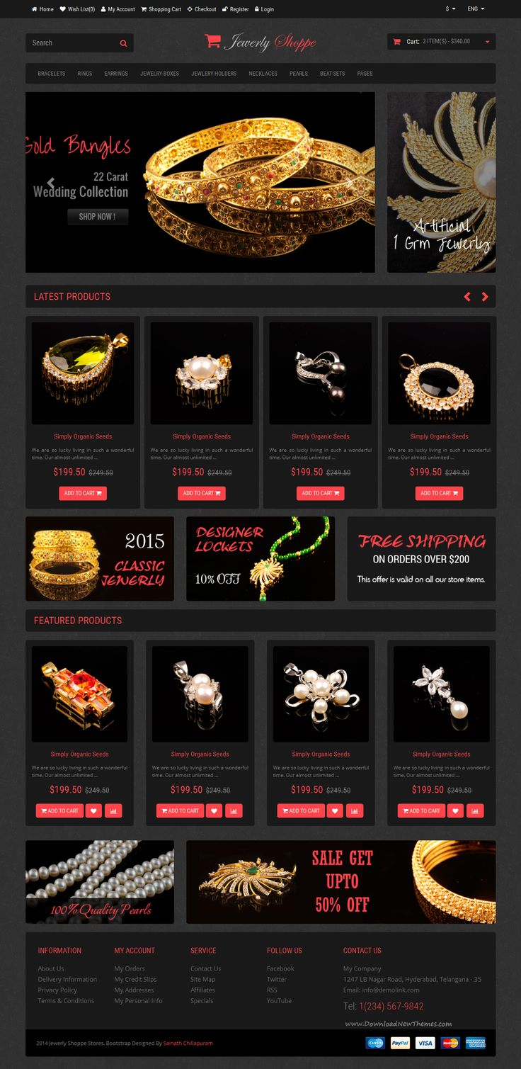 Shoppe Stores Multi-Purpose E-Commerce Bootstrap Templates built on Bootstrap version 3.3.5. Comes with 12 different categories and layout variations. #Jewelry #Shop #Template