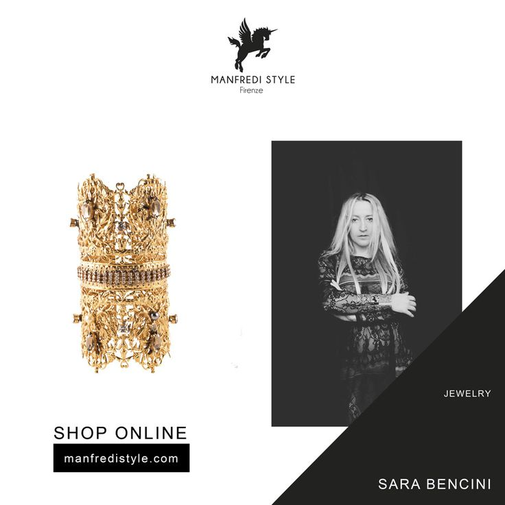 Discover Sara Bencini creations on manfredistyle.com