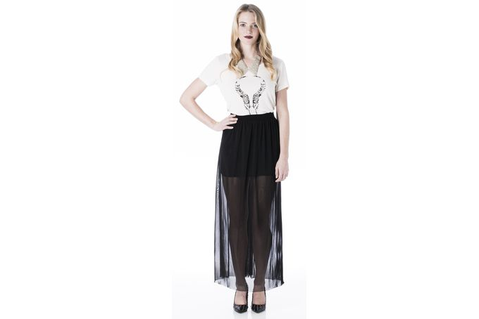 The Sheer Maxi by Mareth Colleen