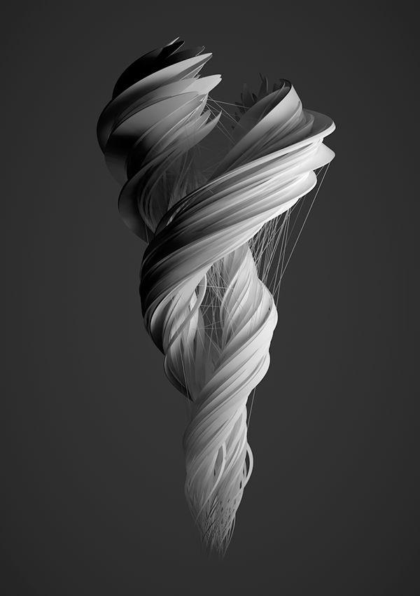 Tornado by Alex Diaconu on Behance http://rhubarbes.com/search/3D+art