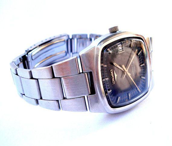 Vintage Reloj Suizo LONGINES Conquest Automatico por shopvintage1
