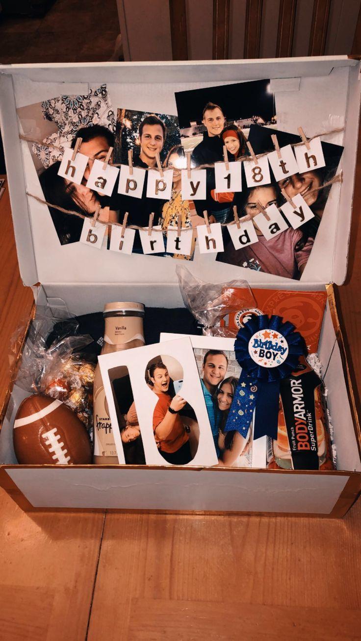 created this birthday box for my boyfriend's birthday