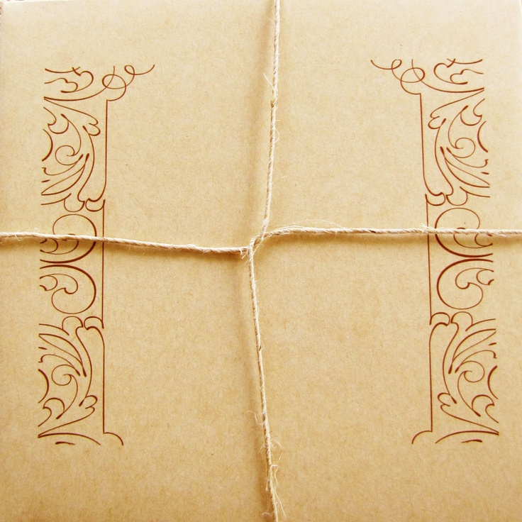 Sutherland Design's Traditional Themed Envelope with String