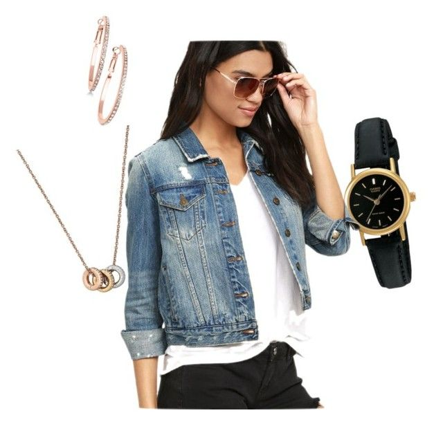 """Untitled #5"" by madalina-diaconu on Polyvore featuring GUESS, Casio, Michael Kors and Pistola"