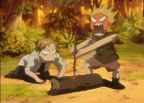Fullmetal Alchemist funny moments | that moment when you're trying to start a fire. or your career and education
