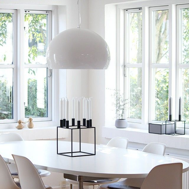 FL/Y lamp by Ferruccio Laviani | thanks to @mille_sand via Instagram