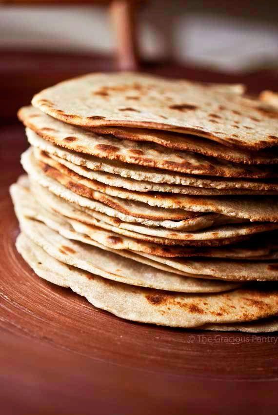 Clean Eating Quinoa Tortillas Recipe ~ https://www.thegraciouspantry.com