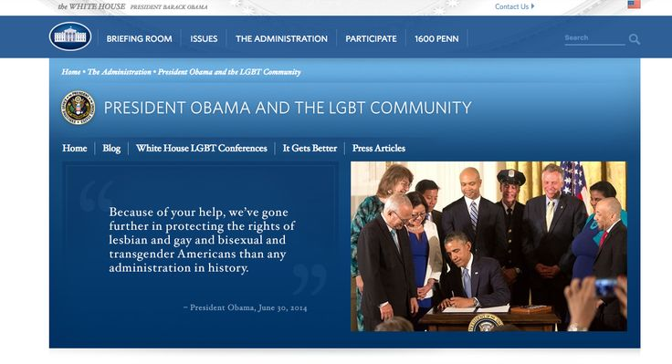 And so the transition of power begins. First up is the WhiteHouse.gov site where several pages are now changing or altogether disappearing -- including the page dedicated to #LGBT rights