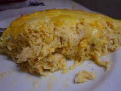 Bons de Cozinha: Quiche de frango - Sem Carboidrato