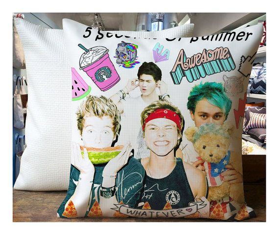 114 best pillow cover favorited images on pinterest for 5sos room decor ideas