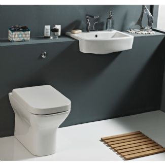 Phoenix MEGAN Back to wall Toilet with closed Soft Close Toilet Seat MN044