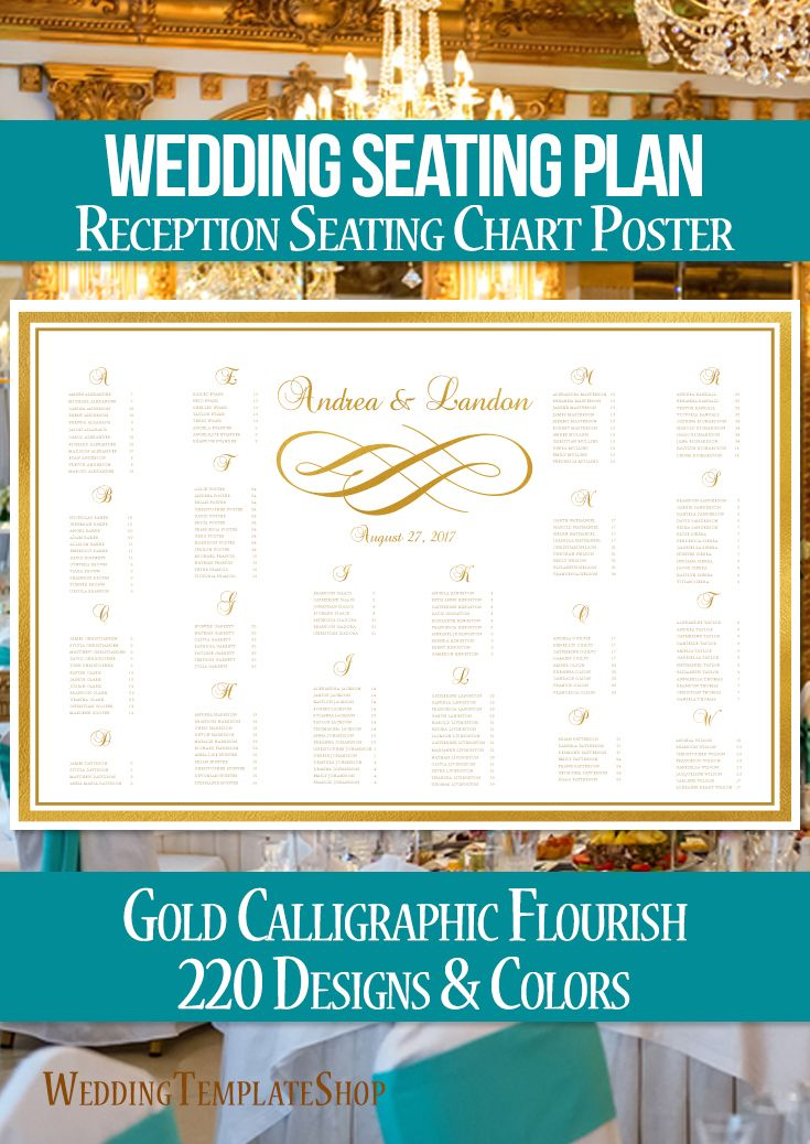 68 best Wedding Seating Plan Charts, Posters \ Ideas images on - wedding charts