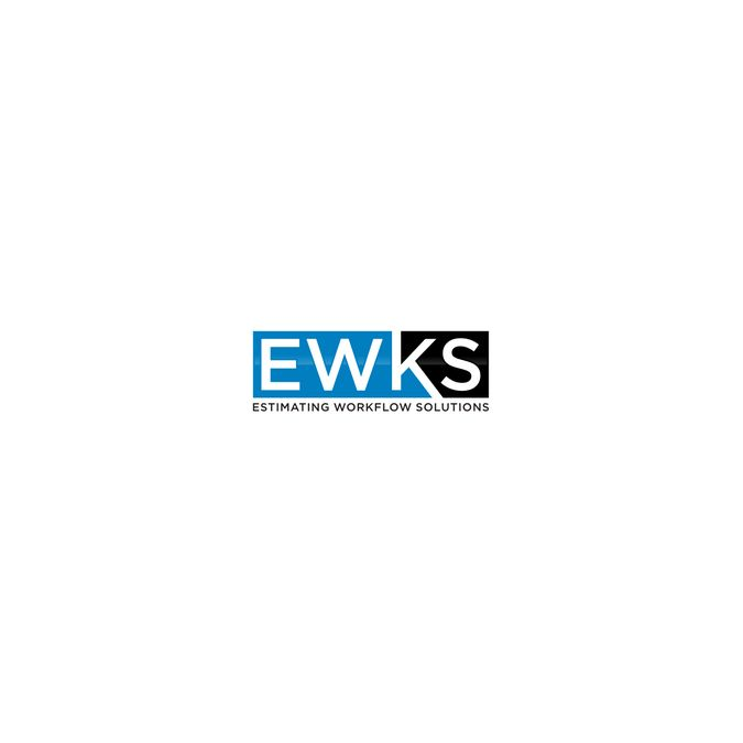 Create a civil engineering software logo for EWKS by boboho_