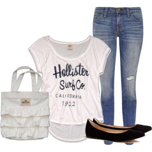 HOLLISTER One of the cutest looks for a new school year