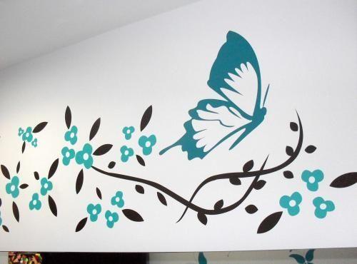 Dibujos para adornar paredes buscar con google - Disenos para pintar paredes ...