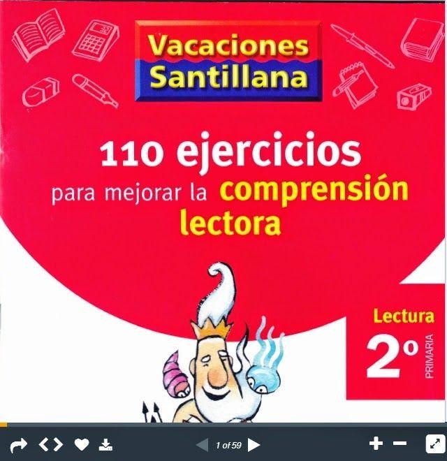 110 EJERCICIOS PARA MEJORAR LA COMPRENSIÓN LECTORA 2º PRIMARIA