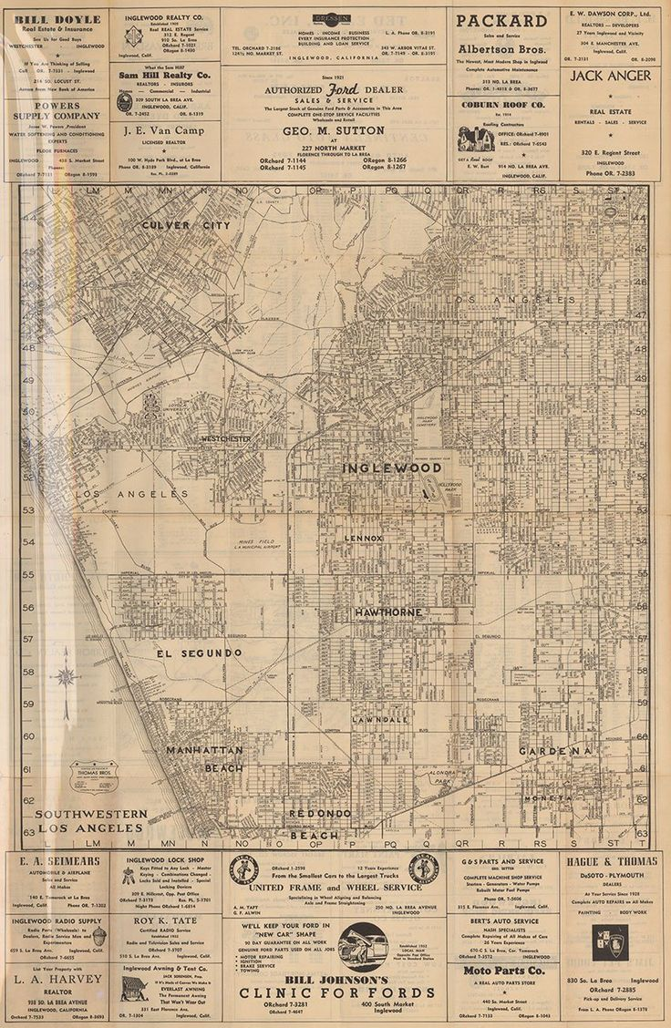 Best Los Angeles Maps Images On Pinterest - Los angeles county air quality map