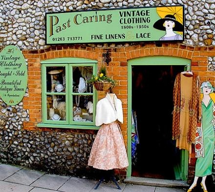 Past Caring: Vintage Clothing & Accessories, Holt, Norfolk