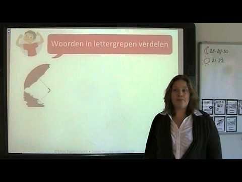 Spelling: woorden in lettergrepen verdelen