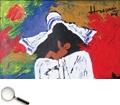 Maqbool Fida Husain (1915 - 2011), Untitled (Mother Teresa Series), acrylic on canvas, 2005