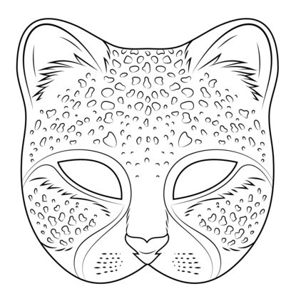 118 best mask for kids images on Pinterest Animal masks - face masks templates