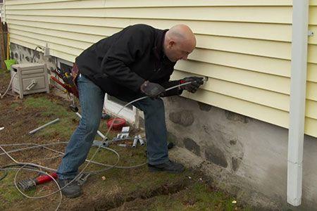 how to run underground wiring to a garage garage and videos. Black Bedroom Furniture Sets. Home Design Ideas